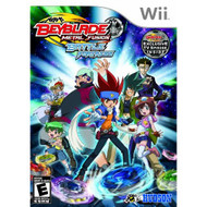 Beyblade: Metal Fusion Battle Fortress For Wii With Manual and Case - EE700835
