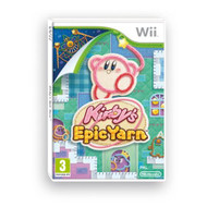 Kirby's Epic Yarn For Wii With Manual and Case - EE700842