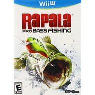 Rapala Pro Fishing 2012 For Wii U Shooter With Manual and Case - EE700856