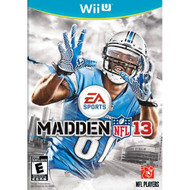 Madden NFL 13 For Wii U Football Soccer With Manual and Case - EE700862