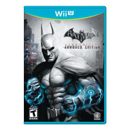 Batman Arkham City: Armored Edition For Wii U With Manual and Case - EE700869