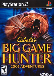 Cabela's Big Game Hunter 2005 Adventures For PlayStation 2 PS2 - EE700991