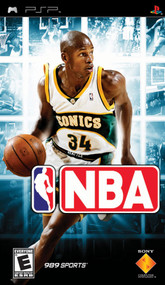 NBA Basketball Sony For PSP UMD With Manual and Case - EE701013
