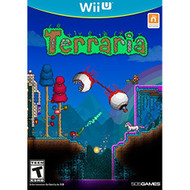 Terraria For Wii U RPG With Manual and Case - EE701053