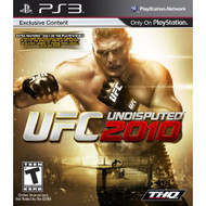 UFC Undisputed 2010 For PlayStation 3 PS3 Wrestling MMA - EE701141