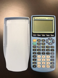 Blue Ti 83 Plus Graphing Calculator TI-83 - EE701199