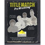 Title Match Pro Wrestling For Atari Vintage - EE701254