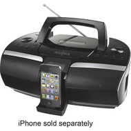 Insigniatm CD Boombox With FM Radio And Applea Iphonea And Ipoda Dock - EE701391