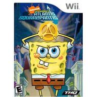 Spongebob Squarepants: Atlantis Squarepantis For Wii With Manual And - EE701406