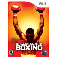 Showtime Championship Boxing For Wii With Manual and Case - EE701402