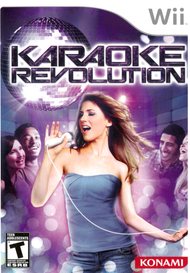 Karaoke Revolution Game Only For Wii With Manual and Case - EE701423