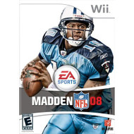 Madden NFL 08 For Wii Football With Manual And Case - EE701440