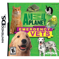 Animal Planet: Emergency Vets For Nintendo DS DSi 3DS 2DS With Manual - EE701452