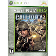 Call Of Duty 3 Platinum Hits Xbox 360 For Xbox 360 COD Shooter - EE701466