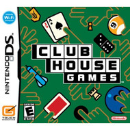 Clubhouse Games For Nintendo DS DSi 3DS 2DS Puzzle - EE701541