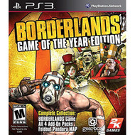Borderlands: Game Of The Year Edition For PlayStation 3 PS3 Shooter - EE701695