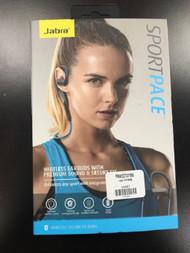 Jabra Sport Pace Wireless Bluetooth Earbuds US Earphones Headphones - EE701748