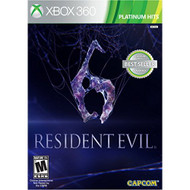 Resident Evil 6 For Xbox 360 Fighting - EE701845