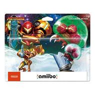 Amiibo Samus Aran And Metroid 2-pack Figure - EE702101