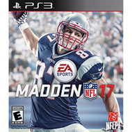 Madden NFL 17 Standard Edition For PlayStation 3 PS3 Football - EE702211