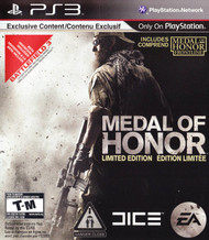 Medal Of Honor Limited Edition For PlayStation 3 PS3 Shooter - EE702224