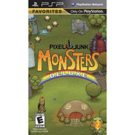 Pixel Junk Monsters Deluxe Sony For PSP UMD With Manual and Case - EE702269