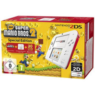 Nintendo 2DS Blanc-Rouge New Super Mario Bros 2 - EE702334