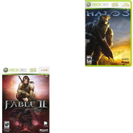 Halo 3 And Fable II Combo Pack For Xbox 360 - EE702434