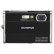 Olympus Stylus 1050SW 10.1MP Digital Camera With 3X Optical Zoom Black - EE702519