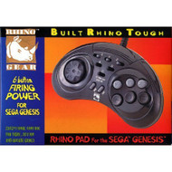 Controller Rhino Pad 6 Buttons With Turbo Fire Feature For Sega - EE702535