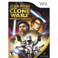 Star Wars The Clone Wars: Republic Heroes For Wii - EE702595