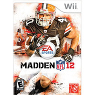 Madden NFL 12 For Wii Football With Manual and Case - EE702671