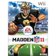 Madden NFL 11 For Wii Football With Manual and Case - EE702681