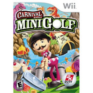 Carnival Games: Minigolf For Wii Golf With Manual and Case - EE702696