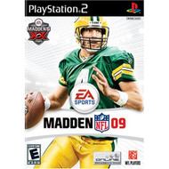 Madden NFL 09 For PlayStation 2 PS2 Football With Manual and Case - EE702953