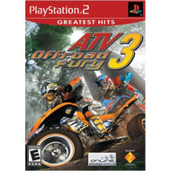 ATV Offroad Fury 3 For PlayStation 2 PS2 Racing With Manual and Case - EE702960