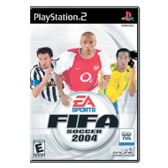 FIFA Soccer 2004 For PlayStation 2 PS2 With Manual and Case - EE702965