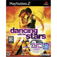 Dancing With The Stars Includes Dance Pad For PlayStation 2 PS2 75533 - EE703050