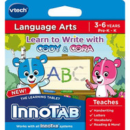 Innotab Software Learn To Write With Cody And Cora For Vtech - EE703058