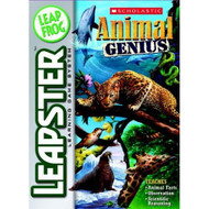 Leapfrog Leapster Learning Game Scholastic Animal Genius For Leap Frog - EE703063