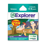 Leapfrog Disney Phineas And Ferb Learning Game Works With Leapfrog - EE703072