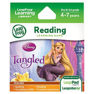 Leapfrog Disney: Tangled Learning Game For LeapPad Tablets And - EE703074