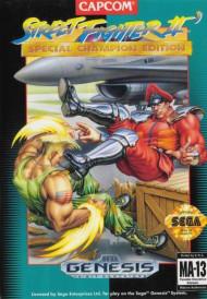 Street Fighter II' Special Champion Edition For Sega Genesis Vintage - EE703082