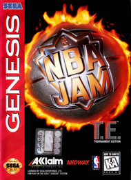 NBA Jam Te Tournament Edition For Sega Genesis Vintage Basketball With - EE703083