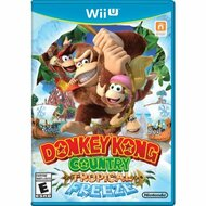 Donkey Kong Country Tropical Freeze For Wii U With Manual And Case - EE703243