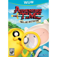 Adventure Time Finn And Jake Investigations For Wii U With Manual And - EE703250