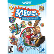 Family Party 30 Great Games: Obstacle Arcade For Wii U With Manual And - EE703251