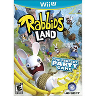 Rabbids Land For Wii U With Manual And Case - EE703249