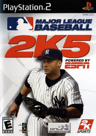 MLB 2K5 For PlayStation 2 PS2 Baseball With Manual And Case - EE703254