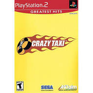 Crazy Taxi For PlayStation 2 PS2 Racing With Manual and Case - EE703258